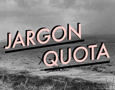 Jargon Quota: Motion Design