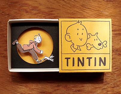 Tintin diorama