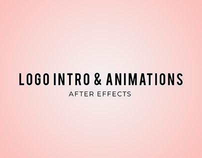 Logo Intro & Animations