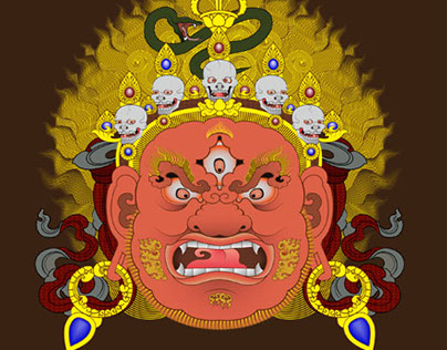 Mahakala Illustration