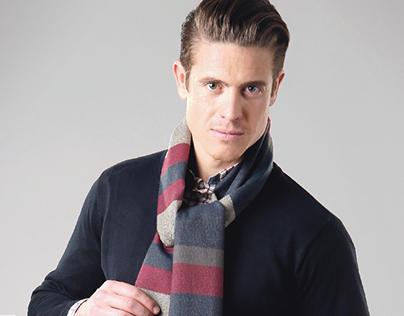 Colección bufandas caballero