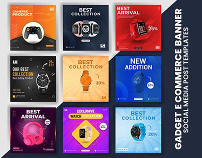 Gadget Social Media Banner | E-Commerce Banner Design
