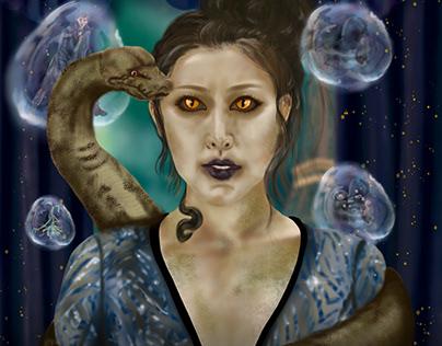 Nagini Returns | Fantastic Beasts | Alternative Poster