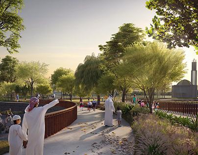 Park at Duballand for Dubai Holding