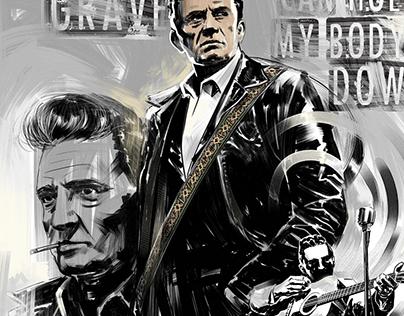 Johnny Cash - poster
