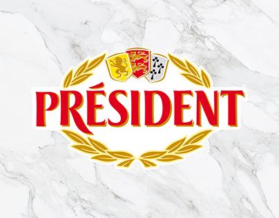 Sitio y RRSS Quesos President