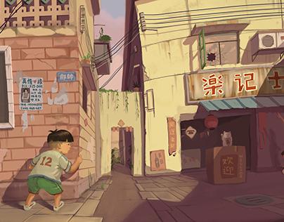 Childhood Adventure_Visual Development