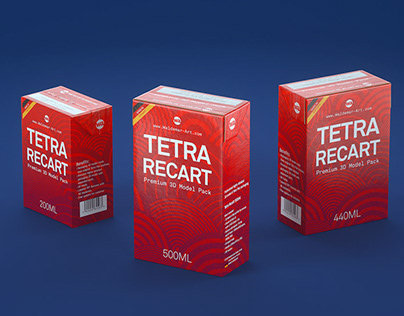 Tetra RECART 3D model pack