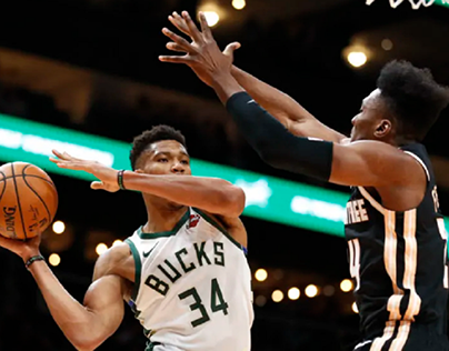 Given that Antetokounmpo averages the 13th-highest,