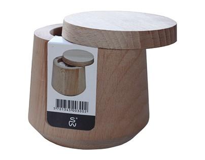 Label design for ScanWood Salt Jar