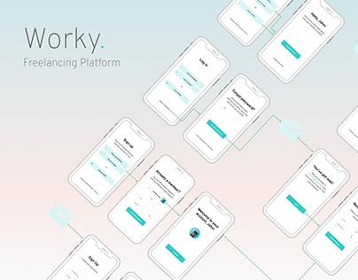 Worky Freelancing Platform