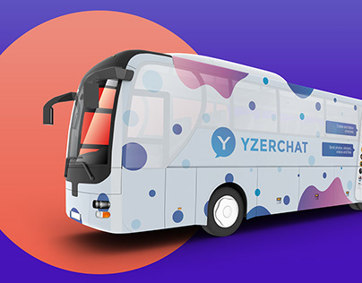 Dubai bus advertising (YzerChat messenger)
