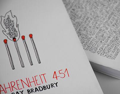 Book cover - Fahrenheit 451