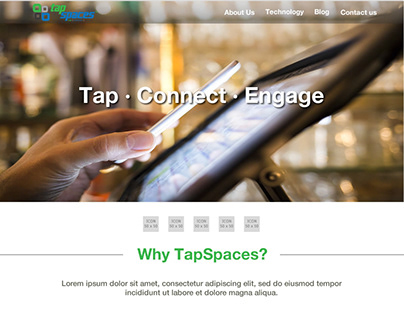 TapSpaces Website
