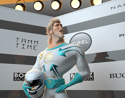 Speed Racer - Facial Animation and Lipsync Exercise