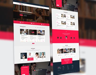 Academy UI Design