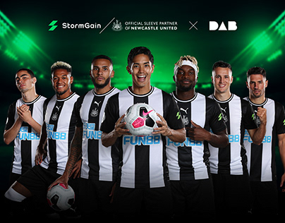StormGain & Newcastle United FC | Landing Pages