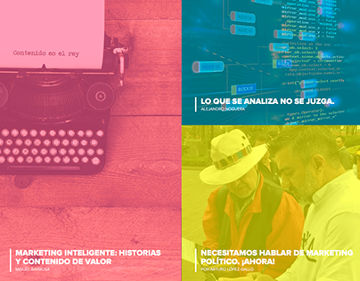 """Sitio web """"Estratégica Smarter Marketing"""""""