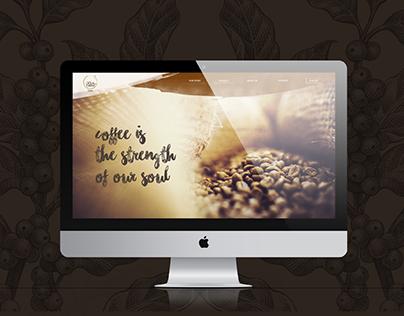 Soul Brew Website Design