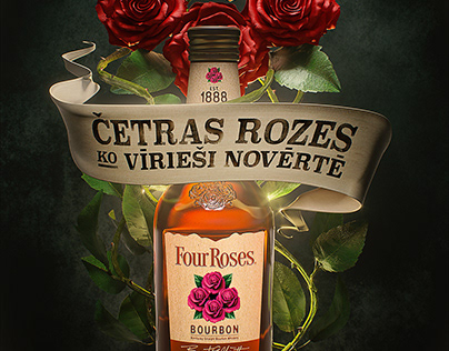 Four Roses 3D visual