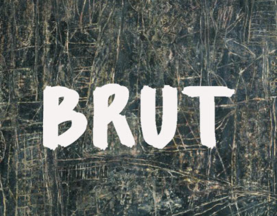 Brut typographie