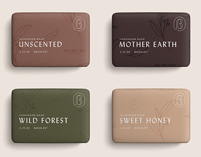 Bee-Bee Tree Apothecary Identity + Packaging