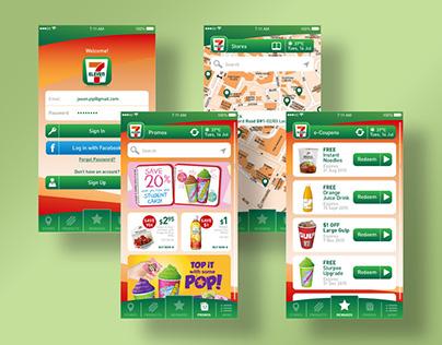 7-Eleven Mobile App Concept