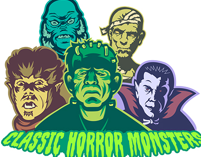 Classic Horror Monsters Collection