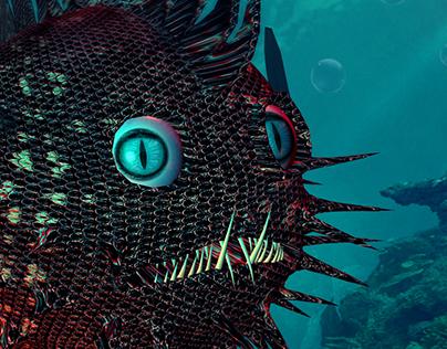 3D Fish / Modelling & Animation