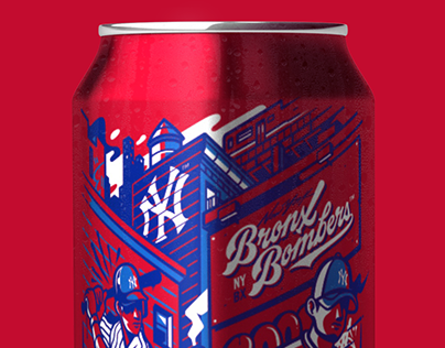 YANKEES BUDWEISER CAN
