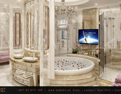 Neo Classic Style Bathroom Design