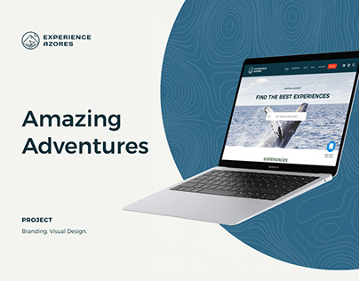 Experience Azores - eCommerce, UI & UX, and Branding