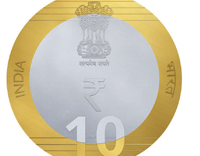 Rs. 10 COIN DESIGN