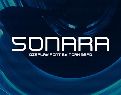 Sonara — Free Display Font