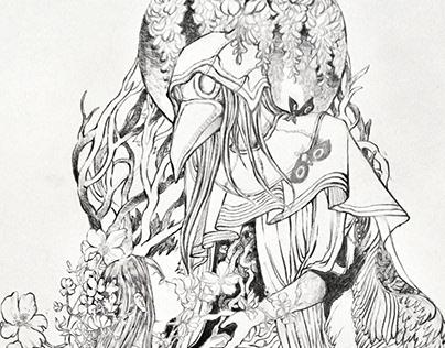 Line art-Pencil Drawing