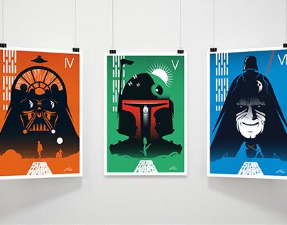 STAR WARS Minimalist Posters
