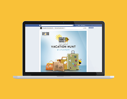 The Great Vacation Hunt Facebook Game