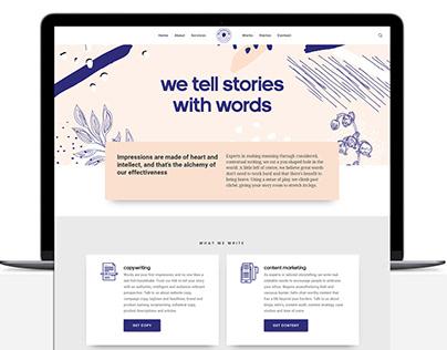 The Content Folk || Website
