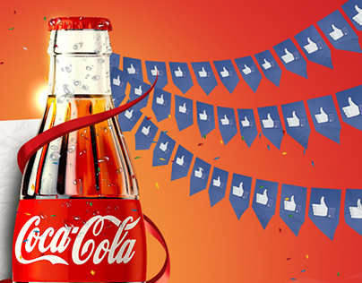 Coco Cola promotions for 50 millions fans in facebook