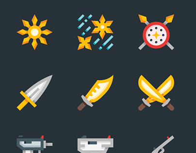 Weapons and Armor Icons