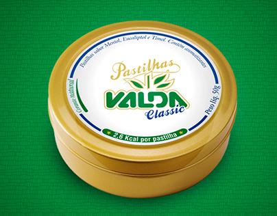 Pastilhas Valda Classic