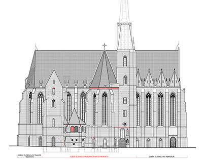 Remont elewacji kościoła p.w. św. Krzyża we Wrocławiu