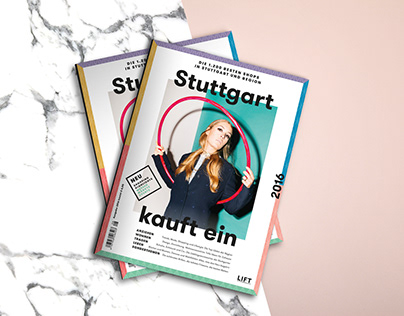 Stuttgart kauft ein | Editorial Design