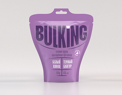 BULKING — ready-made groats with protein