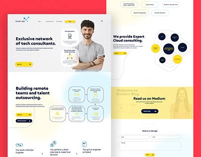 Websites - UI design and WordPress developed