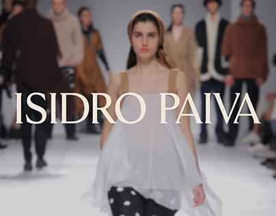 ISIDRO PAIVA . brand revamping & webdesign