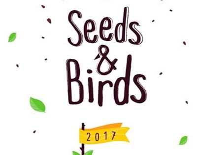 Seeds and Birds Calendar Template