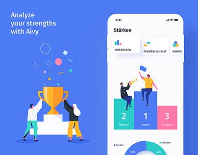 Aivy - AI based Career development App