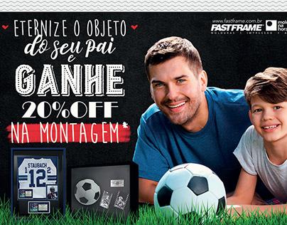Campanha - Dia dos pais - FastFrame | Moldura na hora