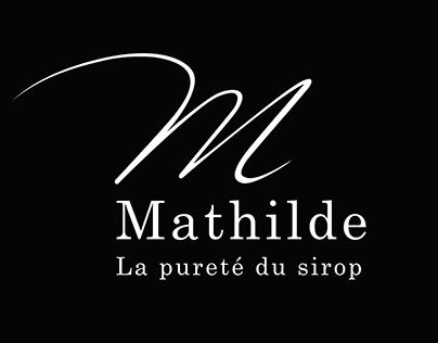 Graphic design | Mathilde, la pureté du sirop
